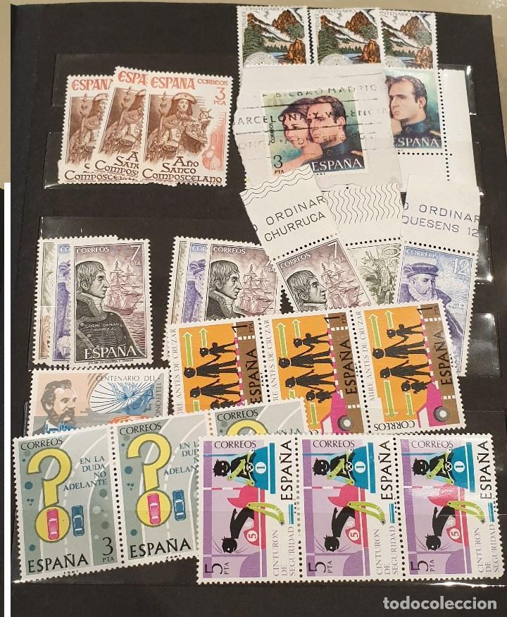 Sellos: Sellos, Antigua colección de sellos, Filatelia, Sellos Nacionales e Internacionales - Foto 2 - 169916668