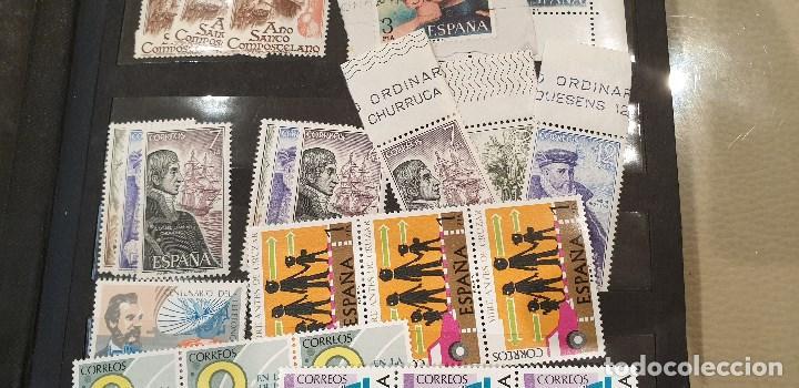 Sellos: Sellos, Antigua colección de sellos, Filatelia, Sellos Nacionales e Internacionales - Foto 4 - 169916668