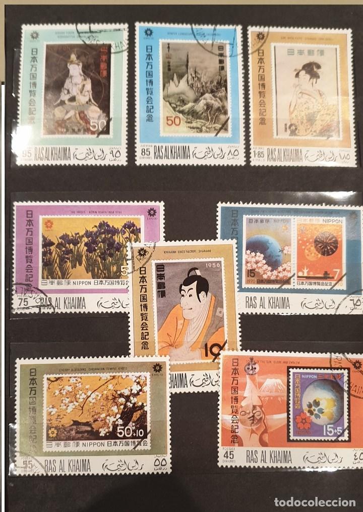 Sellos: Sellos, Antigua colección de sellos, Filatelia, Sellos Nacionales e Internacionales - Foto 36 - 169916668