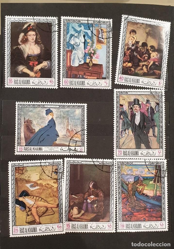Sellos: Sellos, Antigua colección de sellos, Filatelia, Sellos Nacionales e Internacionales - Foto 40 - 169916668