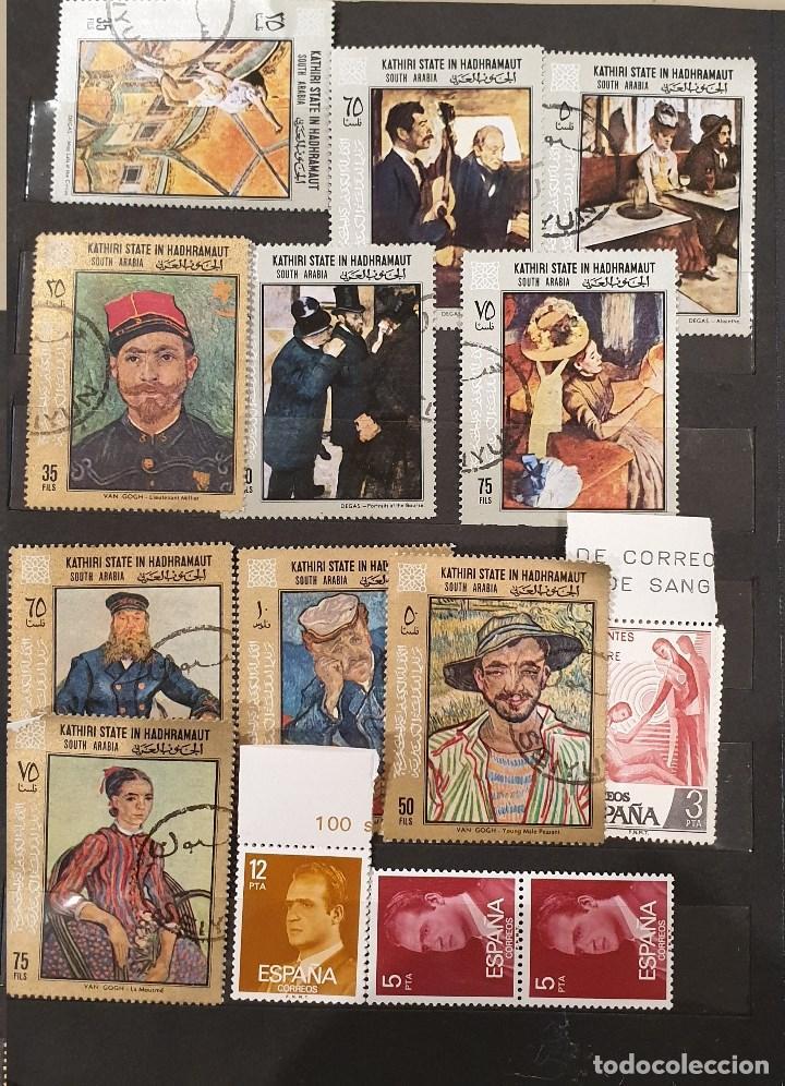 Sellos: Sellos, Antigua colección de sellos, Filatelia, Sellos Nacionales e Internacionales - Foto 58 - 169916668
