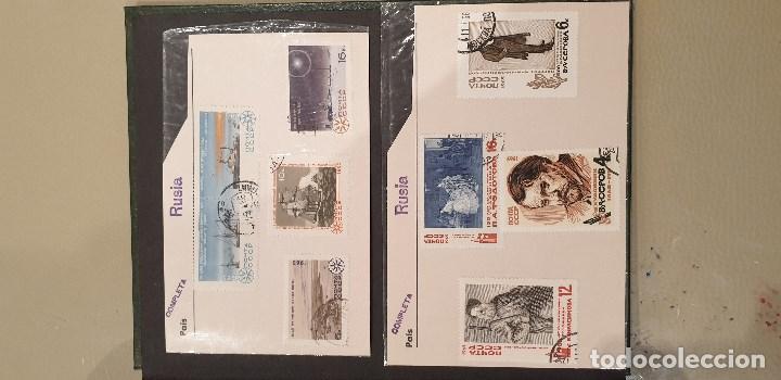 Sellos: Sellos, Antigua colección de sellos, Filatelia, Sellos Nacionales e Internacionales - Foto 67 - 169916668