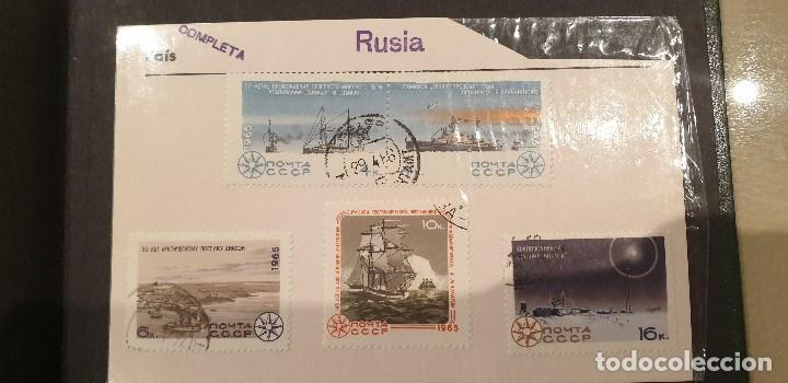 Sellos: Sellos, Antigua colección de sellos, Filatelia, Sellos Nacionales e Internacionales - Foto 68 - 169916668