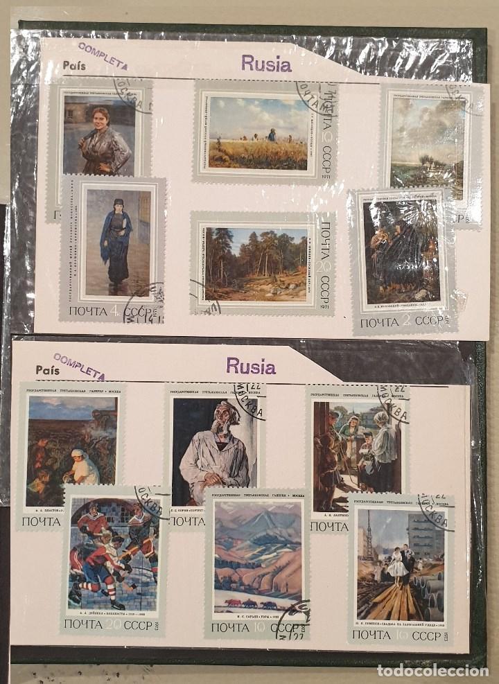 Sellos: Sellos, Antigua colección de sellos, Filatelia, Sellos Nacionales e Internacionales - Foto 73 - 169916668