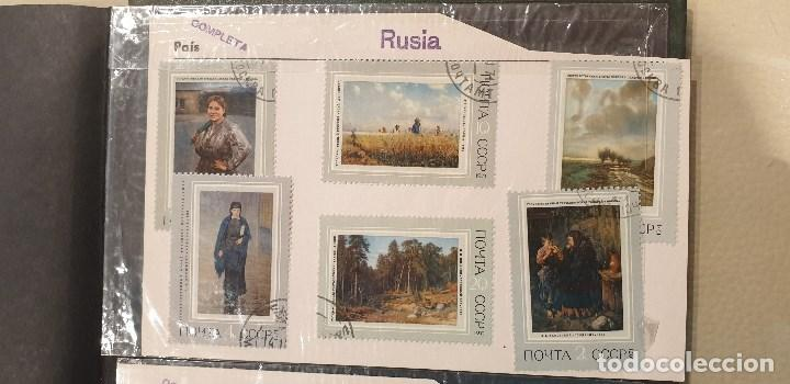 Sellos: Sellos, Antigua colección de sellos, Filatelia, Sellos Nacionales e Internacionales - Foto 74 - 169916668
