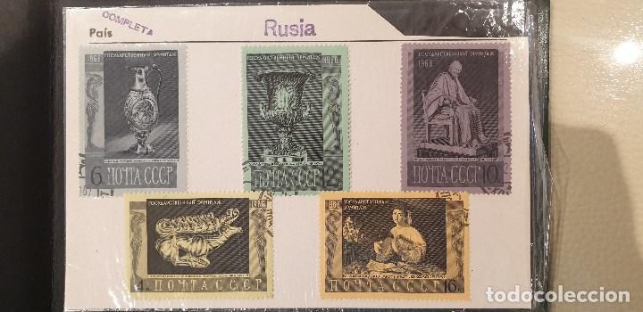 Sellos: Sellos, Antigua colección de sellos, Filatelia, Sellos Nacionales e Internacionales - Foto 80 - 169916668