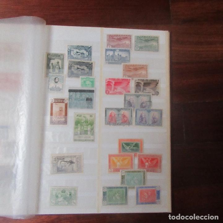 Sellos: Album coleccion de sellos filatelia - Foto 8 - 170201732