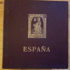 Sellos: M - ALBUM CON 318 SELLOS DE ESPAÑA - PUIGFERRAT - FOTOS ADICIONALES DE TODAS LAS HOJAS - INCOMPLETO. Lote 171491709