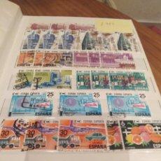 Sellos: CLASIFICADOR CON UNOS 900 SELLOS ESPAÑOLES CIRCULADOS . Lote 171799067
