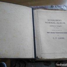 Sellos: ALBUM DE SELLOS EXTRANJERO MUY ANTIGUO Y ESCASO- HOJAS MUCHOS PAISES DESDE FINALES DE AÑOS 1800. Lote 172783432