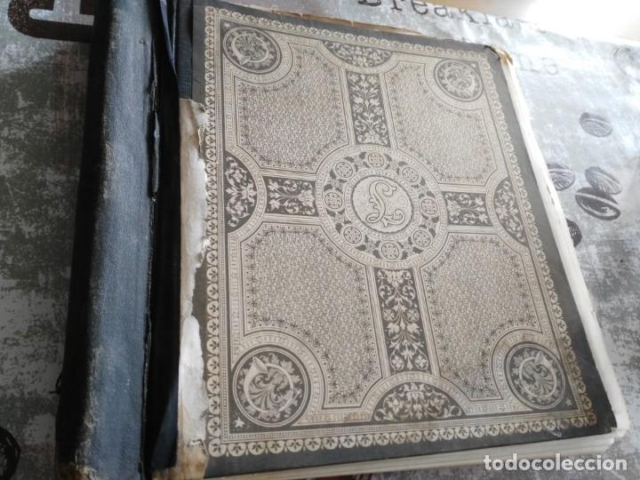 Sellos: album de sellos extranjero muy antiguo y escaso- hojas muchos paises desde finales de años 1800 - Foto 2 - 172783432