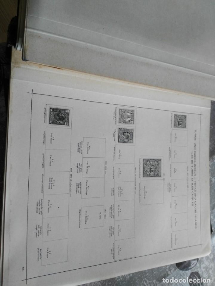 Sellos: album de sellos extranjero muy antiguo y escaso- hojas muchos paises desde finales de años 1800 - Foto 4 - 172783432