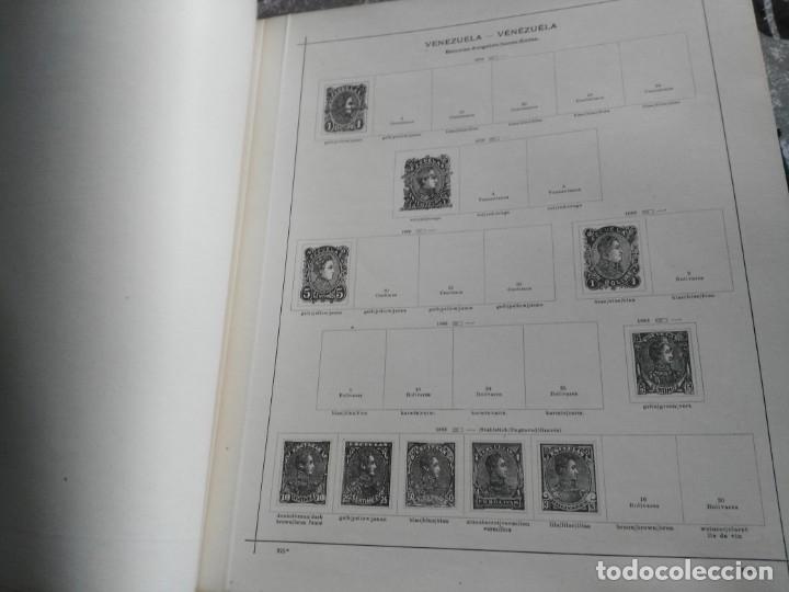 Sellos: album de sellos extranjero muy antiguo y escaso- hojas muchos paises desde finales de años 1800 - Foto 5 - 172783432