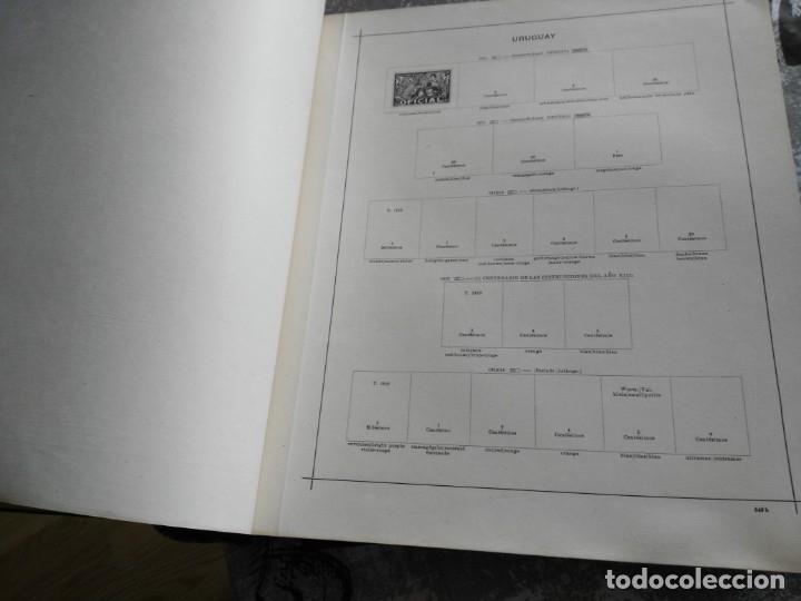Sellos: album de sellos extranjero muy antiguo y escaso- hojas muchos paises desde finales de años 1800 - Foto 6 - 172783432