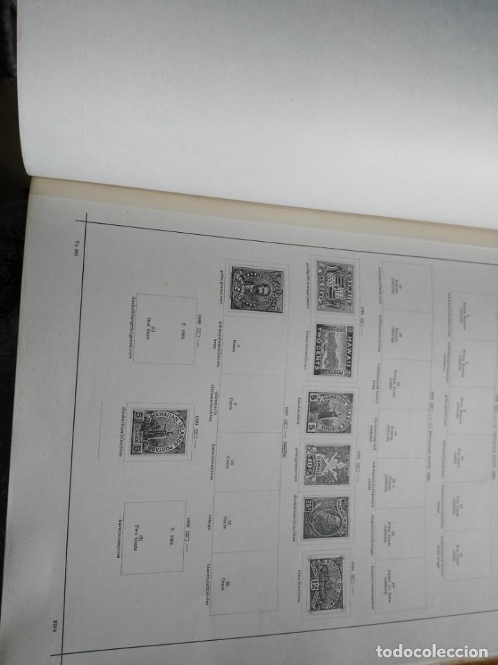 Sellos: album de sellos extranjero muy antiguo y escaso- hojas muchos paises desde finales de años 1800 - Foto 8 - 172783432