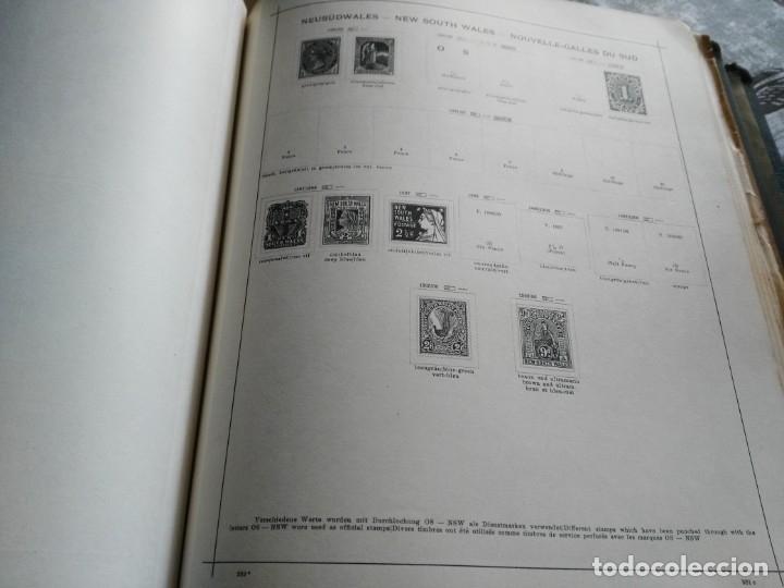 Sellos: album de sellos extranjero muy antiguo y escaso- hojas muchos paises desde finales de años 1800 - Foto 9 - 172783432