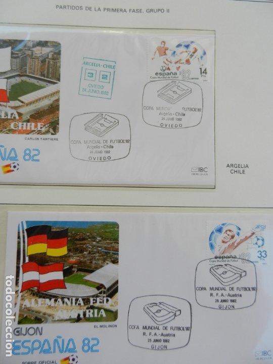 Sellos: SELLOS SOBRE EL CAMPEONATO MUNDIAL DE FUTBOL ESPAÑA 82. - Foto 8 - 172863099