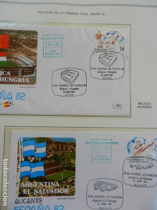 Sellos: SELLOS SOBRE EL CAMPEONATO MUNDIAL DE FUTBOL ESPAÑA 82. - Foto 11 - 172863099