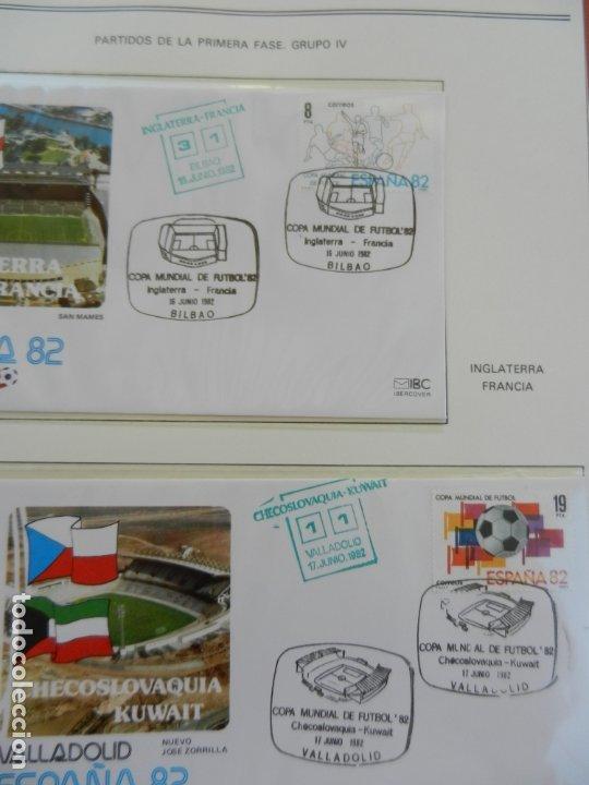 Sellos: SELLOS SOBRE EL CAMPEONATO MUNDIAL DE FUTBOL ESPAÑA 82. - Foto 13 - 172863099