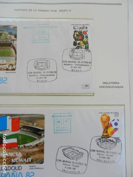 Sellos: SELLOS SOBRE EL CAMPEONATO MUNDIAL DE FUTBOL ESPAÑA 82. - Foto 14 - 172863099