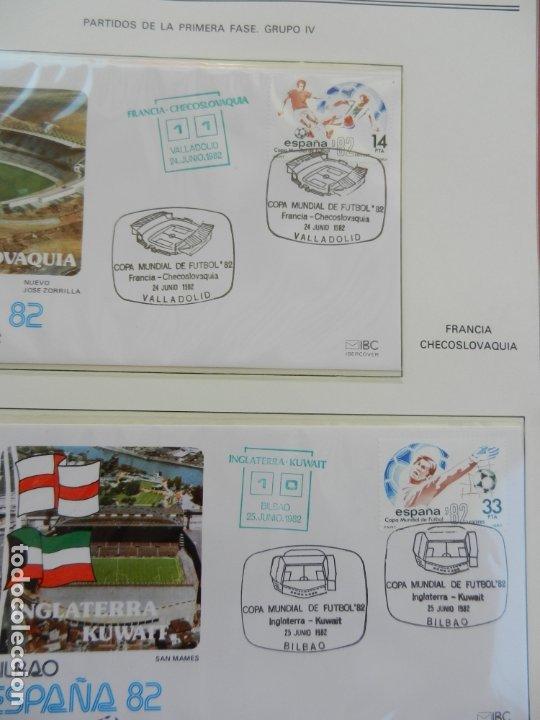 Sellos: SELLOS SOBRE EL CAMPEONATO MUNDIAL DE FUTBOL ESPAÑA 82. - Foto 15 - 172863099