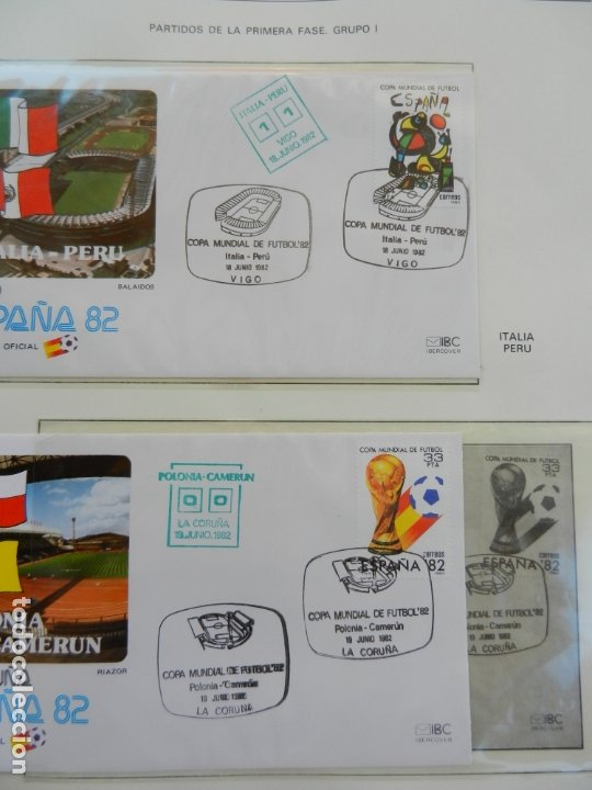 Sellos: SELLOS SOBRE EL CAMPEONATO MUNDIAL DE FUTBOL ESPAÑA 82. - Foto 17 - 172863099