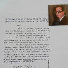 Sellos: SELLOS SOBRE EL CAMPEONATO MUNDIAL DE FUTBOL ESPAÑA 82.. Lote 172863099