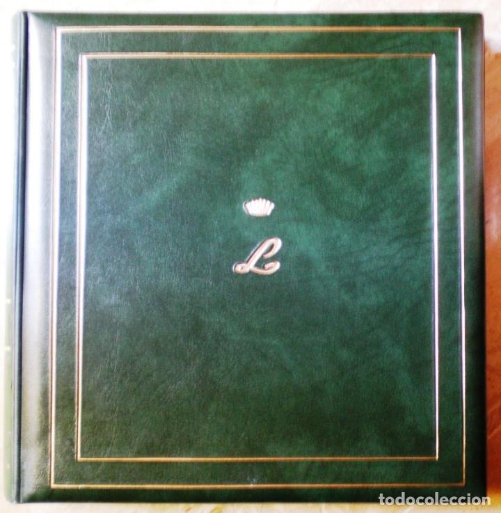 TAPAS DE ALBUM CON CAJETÍN - CON TITULO TEMA EUROPA - MARCA PHILOS - 2ª MANO COMO NUEVA - VER 3 FOTO (Sellos - Material Filatélico - Álbumes de Sellos)