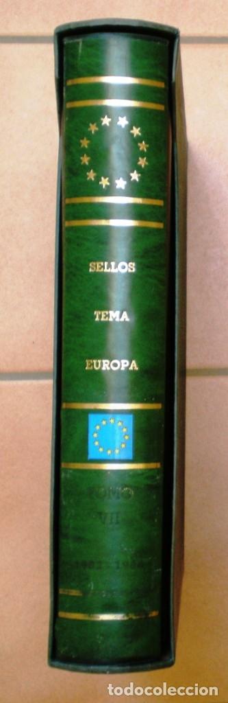 Sellos: TAPAS DE ALBUM CON CAJETÍN - CON TITULO TEMA EUROPA - MARCA PHILOS - 2ª MANO COMO NUEVA - VER 3 FOTO - Foto 3 - 174830475