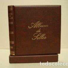 Sellos: ALBUM SELLOS BBB BEUMER. 15 ANILLAS. COLOR CUERO VIEJO.. Lote 176625795
