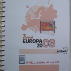 Sellos: HOJAS - TEMA EUROPA (CEPT) AÑO 2008 - MARCA EFILCAR - NUEVAS SIN UTILIZAR. Lote 172149185