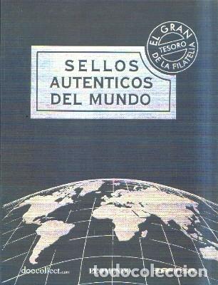 SELLOS AUTENTICOS DEL MUNDO. A-FILAT-067 (Sellos - Material Filatélico - Álbumes de Sellos)