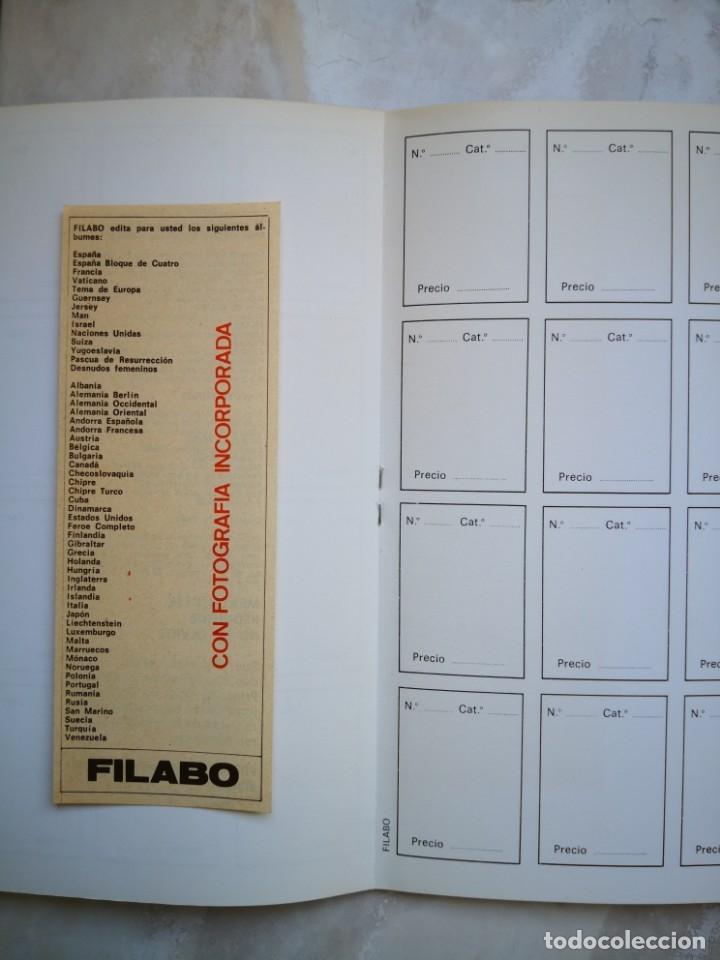 Sellos: ALBUM SELLOS PARA COLECCIONES FILABO BARCELONA (SPAIN) - ENVÍO CERTIFICADO 4,99 - Foto 6 - 177883504