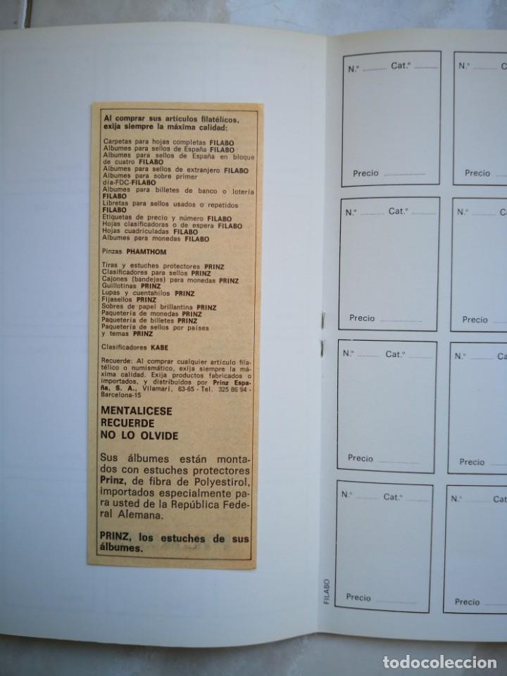 Sellos: ALBUM SELLOS PARA COLECCIONES FILABO BARCELONA (SPAIN) - ENVÍO CERTIFICADO 4,99 - Foto 7 - 177883504