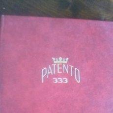 Sellos: ALBUM PATENTO 333 CON ALGUNOS SELLOS. Lote 179079300