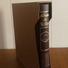 Sellos: ÁLBUM EFILCAR SEMINUEVO PARA HOJAS DE 15 ANILLAS. Lote 179162067