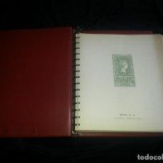 Sellos: ALBUM CON HOJAS EDIFIL 2º CENTENARIO DE ESPAÑA. 1950 A 1976. HOJAS COLOR CREMA( VER FOTOS ). Lote 179178093