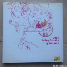 Sellos: LIBRO OFICIAL DE CORREOS AÑO 2009 SIN SELLOS Y CON TODOS LOS FILOESTUCHES. Lote 179469680