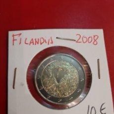 Sellos: 2008 FINLANDIA 2 EUROS SIN CIRCULAR. Lote 180117516