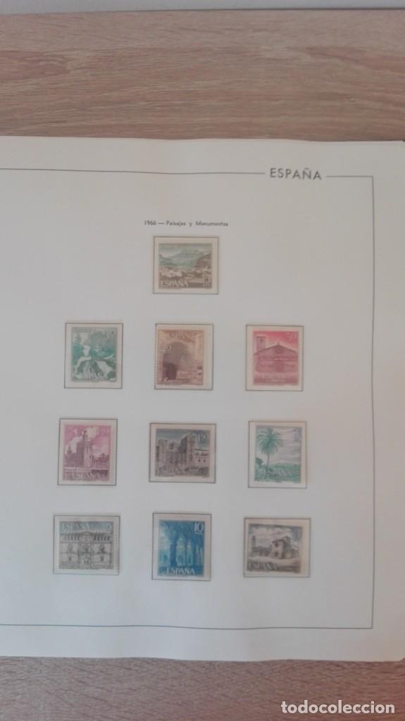 Sellos: ÁLBUM EDIFIL ESPAÑA PRIMER CENT.AÑOS 70-INCLUYE HOJAS Y SELLOS NUEVOS-AÑOS 1965-1980 Y PLAN SUR VAL. - Foto 14 - 180225416