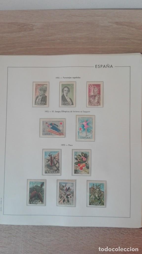 Sellos: ÁLBUM EDIFIL ESPAÑA PRIMER CENT.AÑOS 70-INCLUYE HOJAS Y SELLOS NUEVOS-AÑOS 1965-1980 Y PLAN SUR VAL. - Foto 16 - 180225416