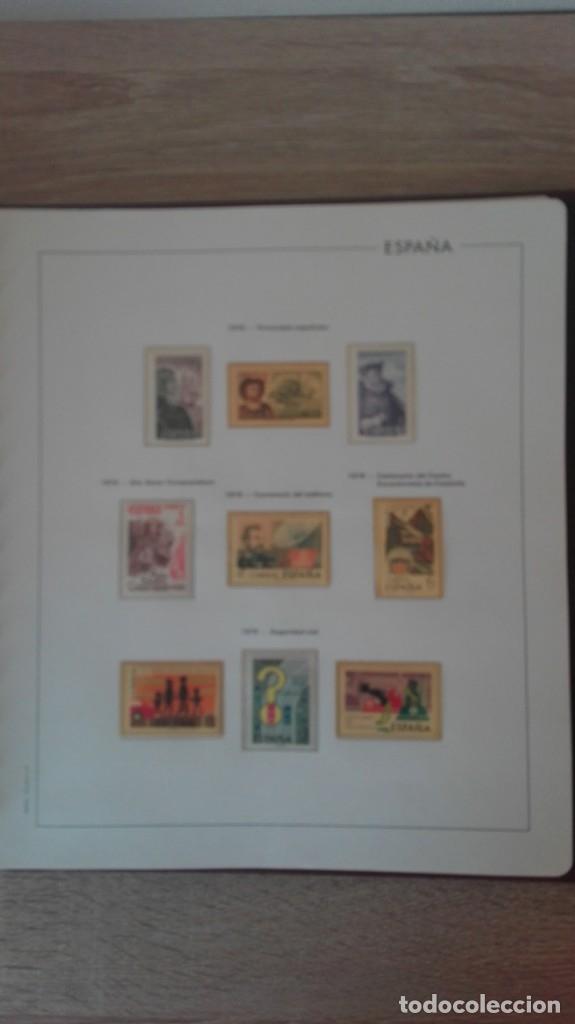 Sellos: ÁLBUM EDIFIL ESPAÑA PRIMER CENT.AÑOS 70-INCLUYE HOJAS Y SELLOS NUEVOS-AÑOS 1965-1980 Y PLAN SUR VAL. - Foto 17 - 180225416