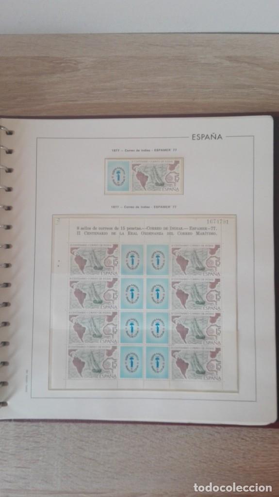 Sellos: ÁLBUM EDIFIL ESPAÑA PRIMER CENT.AÑOS 70-INCLUYE HOJAS Y SELLOS NUEVOS-AÑOS 1965-1980 Y PLAN SUR VAL. - Foto 19 - 180225416