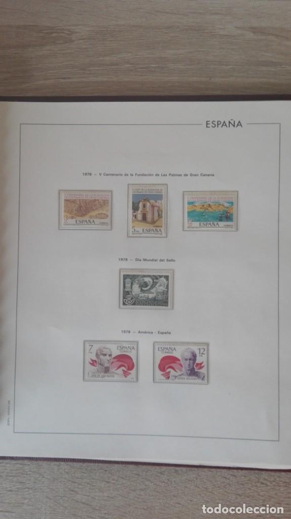 Sellos: ÁLBUM EDIFIL ESPAÑA PRIMER CENT.AÑOS 70-INCLUYE HOJAS Y SELLOS NUEVOS-AÑOS 1965-1980 Y PLAN SUR VAL. - Foto 21 - 180225416