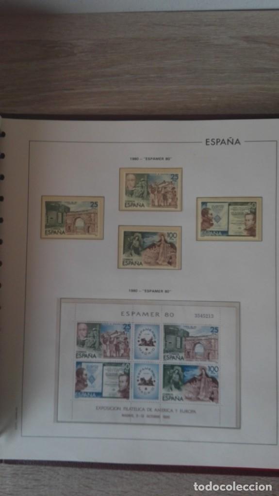 Sellos: ÁLBUM EDIFIL ESPAÑA PRIMER CENT.AÑOS 70-INCLUYE HOJAS Y SELLOS NUEVOS-AÑOS 1965-1980 Y PLAN SUR VAL. - Foto 22 - 180225416