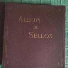 Sellos: ALBUM CON ESTUCHE SELLOS DE ESPAÑA - PUIGFERRAT - 71 HOJAS CON 239 SELLOS SIN USO. Lote 180256901