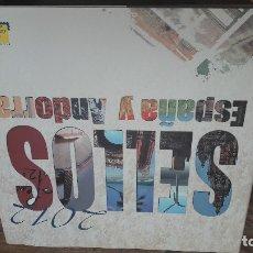 Sellos: ALBUM SELLOS ESPAÑA Y ANDORRA 2012- CORREOS. Lote 180602657