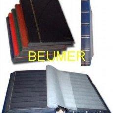Sellos: 3 CLASIFICADORES A4. 16 PÁGINAS.HOJAS NEGRAS.BBB*. Lote 210566690
