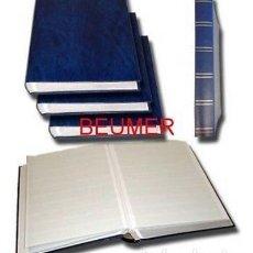 Sellos: BEUMER* 2 CLASIFICADORES A4. 64 PÁGINAS.HOJAS BLANCAS. Lote 180995928