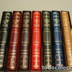 Sellos: ALBUMES SELLOS CREAFIL. 15 ANILLAS. GAMA DE COLORES.. Lote 180996106
